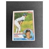 1983 Topps #498 Wade Boggs ROOKIE CARD  Boston Re