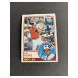 1983 Topps #163 Cal Ripken Jr.  Baltimore Orioles