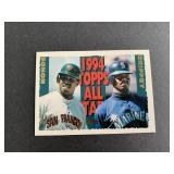 1995 Topps Ken Griffey Jr. / Barry Bonds All-Star