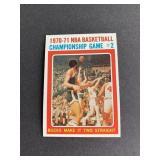 1971-72 Topps Kareem Abdul-Jabbar Playoffs card