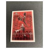 1999-00 UD MVP #185 Michael Jordan Exclusives INSE