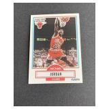 1990-91 Fleer #26 Michael Jordan card  Chicago Bu