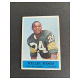 1964 Philadelphia Willie Wood  Green Bay Packers