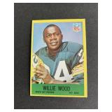 1967 Philadelphia Willie Wood  Green Bay Packers
