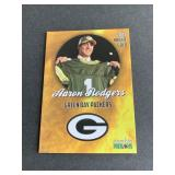 RARE 2005 GOLD Aaron Rodgers Phenoms ROOKIE CARD