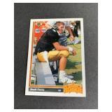 1991 Upper Deck Brett Favre ROOKIE CARD  Green Ba