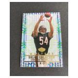 2000 Edge Masters Brian Urlacher ROOKIE CARD  Chi