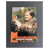 1991 Pro Set Bill Belichick ROOKIE CARD  New Engl