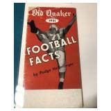 1951 Football Facts Book