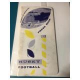 1959 Husky Football press book