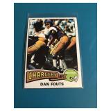 1975 TOPPS #367 DAN FOUTS ROOKIE CARD