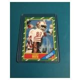 1986 Topps Jerry Rice #161 - RC - Rookie