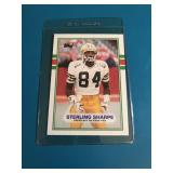 1989 TOPPS PACKERS STERLING SHARPE RC #379