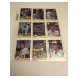 91982 Donruss Baseball Cards Kuenn ,Blyleven, M