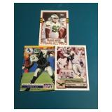 3 Reggie White Football Cards 89 Topps 92 UD & Pro