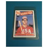 1985 Topps Mark McGwire Olympic Rookie Card RC
