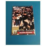 1991 Pro Set Brett Favre Rookie Card # 762