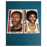 21976-77 Topps BasketballJPrice & D Jones