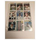 91977 Topps Baseball Cards Sutter, John, Padres T
