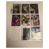 8 95& 96 Reggie White Football Cards