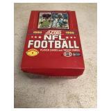 1990 SCORE FOOTBALL SERIES 1 UNOPENED BOX