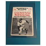 1961 Baseball Scoops Don Larson No Hitter