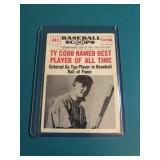 1961 Baseball Scoops Ty Cobb