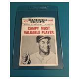 1961 Baseball Scoops Roy Campanella