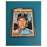1962 Topps Warren Spahn All Star