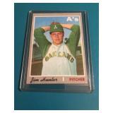 1970 Topps Jim Catfish Hunter