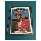 1972 Topps Bob Gibson