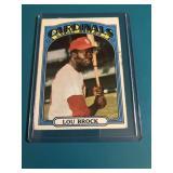 1972 Topps Lou Brock