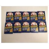 101988 Fleer Baseball Wax Packs