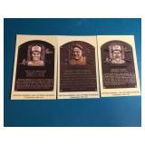 31999 Robin Yount Molitor. Gehrig HOF Plaque Pos