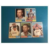 1961 Topps San Francisco Giants Lot