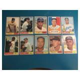 1961 Topps La Dodgers Lot