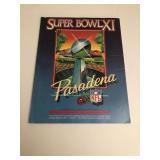 Super Bowl XI Program