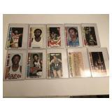 10 1976-77 Basketball Cards
