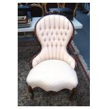 Victorian style chair, 24 x 38 inches - Relisted