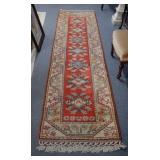 """Persian runner carpet, 123"""" x 31"""""""