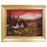 Branko Bijelic oil painting, 12 x 16 inches