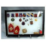 Lot of assorted medals and badges