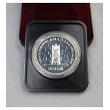 1977 Canada proof silver dollar