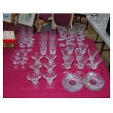 (52) Pieces Bayel crystal, Versailles pattern