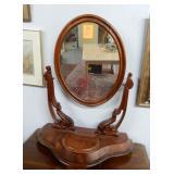 Dresser top shaving mirror, 24 x 32 inches