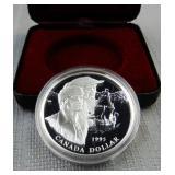 Canada 1995 silver proof dollar