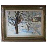 Alexis Arts, Canadian born 1940, oil on canvas