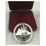 Canada 1987 silver proof dollar
