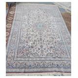 Persian Nain carpet, 7 feet x 12 feet