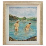 Benjamin Rajzele oil on canvas, 21 x 28